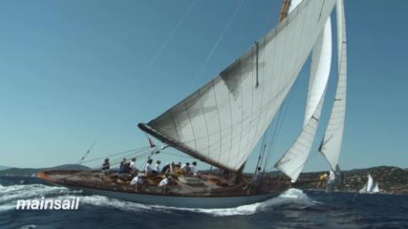 Classic raceboats and yachts from history