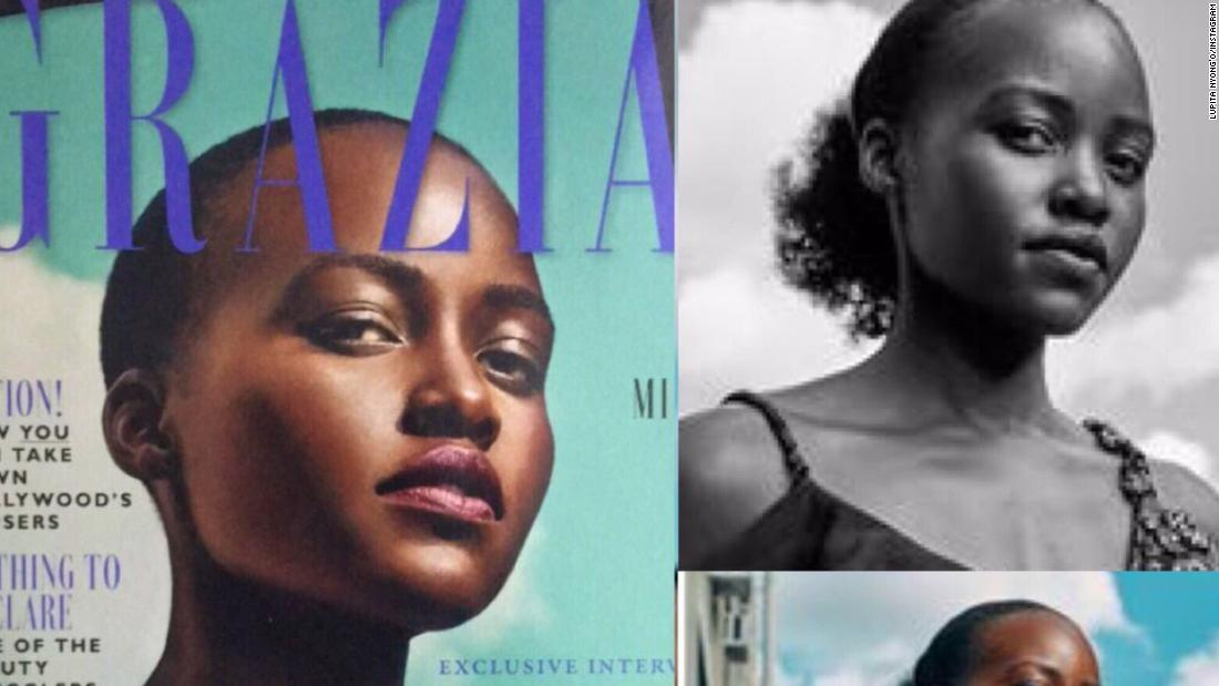 Lupita Nyongo Says Magazine Edited Her Hair In Cover Photo Cnn