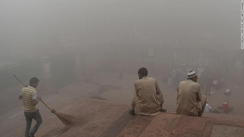 See how bad Delhi's pollution is
