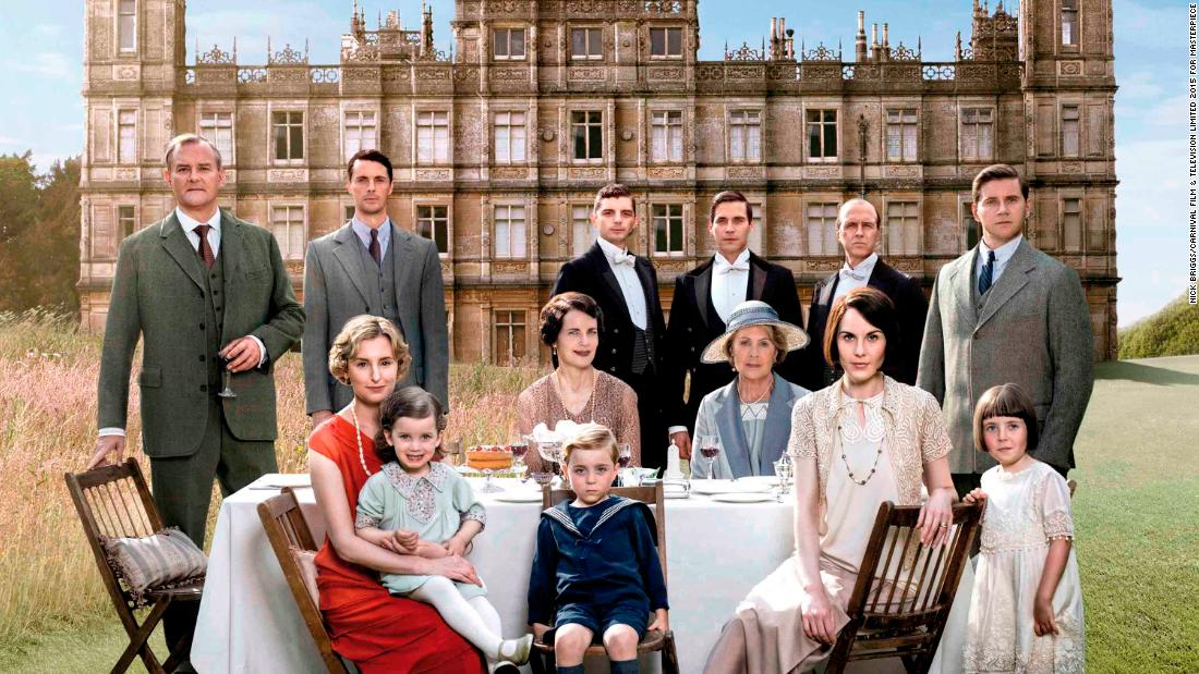 "Period drama ""Downton Abbey"" follows the romances and fortunes of the fictional aristocratic Crawley family and their servants at a grand Yorkshire estate.<br /><br />Set between 1912 and 1926, it delves into the dealings of the aristocrats upstairs and the servants downstairs, and how their lives intertwine.<br /><br />It's shown in 250 territories worldwide. There's even a ""Downton Abbey"" exhibition touring the world, kicking off in Singapore earlier this year. Highclere Castle, where the series is filmed, is now a tourist attraction in its own right."