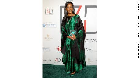 "Grace Mugabe at the ""Fashion 4 Development"" luncheon at a luxury hotel in New York in September."