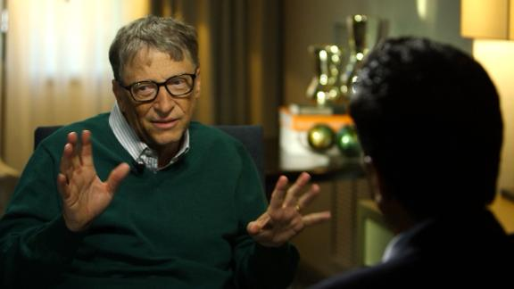 Bill Gates sits down with CNN's Sanjay Gupta to announce his newest initiative.