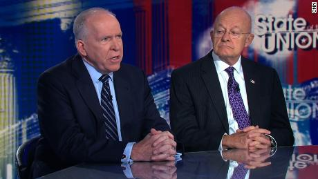Image result for James Clapper and Brennan