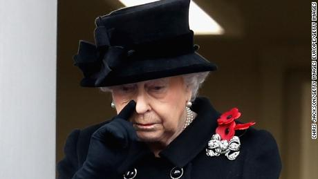 Queen Elizabeth Hands Over Remembrance Sunday Duty To