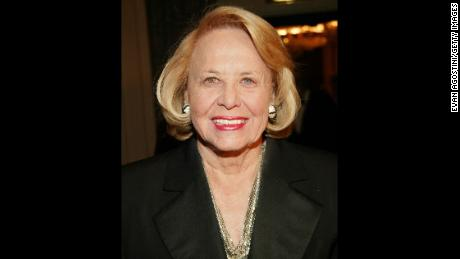 Liz Smith at New York City's Waldorf-Astoria Hotel in 2004.