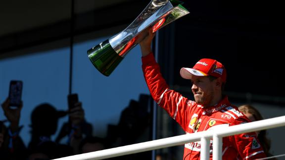 Sebastian Vettel hadn't won a race since the Hungarian Grand Prix in July. In the intervening period between then and the Mexico Grand Prix, he squandered a 14-point lead and lost sight of Lewis Hamilton as the Briton sped away to a fourth world title. In Brazil, Vettel triumphed once again to record his fifth win of the season and the 47th of his career. Hamilton started the race in last place after crashing out of qualifying early on, but stormed through the field to finish fourth behind Kimi Raikkonen and second-placed Valtteri Bottas.   Drivers' title race after round 19 Hamilton 345 points Vettel 302 points Bottas 280 points