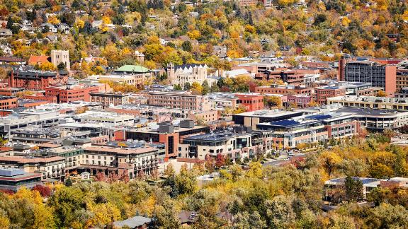 The Gallup-Sharecare Well-Being Index analyzes 15 metrics to identify where Americans are most happy and content. After nearly 250,000 interviews in 190 metropolitan areas across the United States, the project named Boulder, Colorado, the happiest city in the US. Click through the gallery for the rest of the top 10.