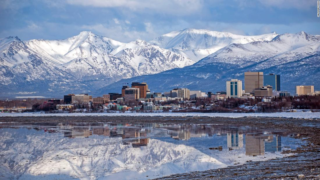 10. Anchorage, Alaska