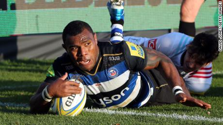 Rokoduguni signed a professional contract with his club Bath in 2012