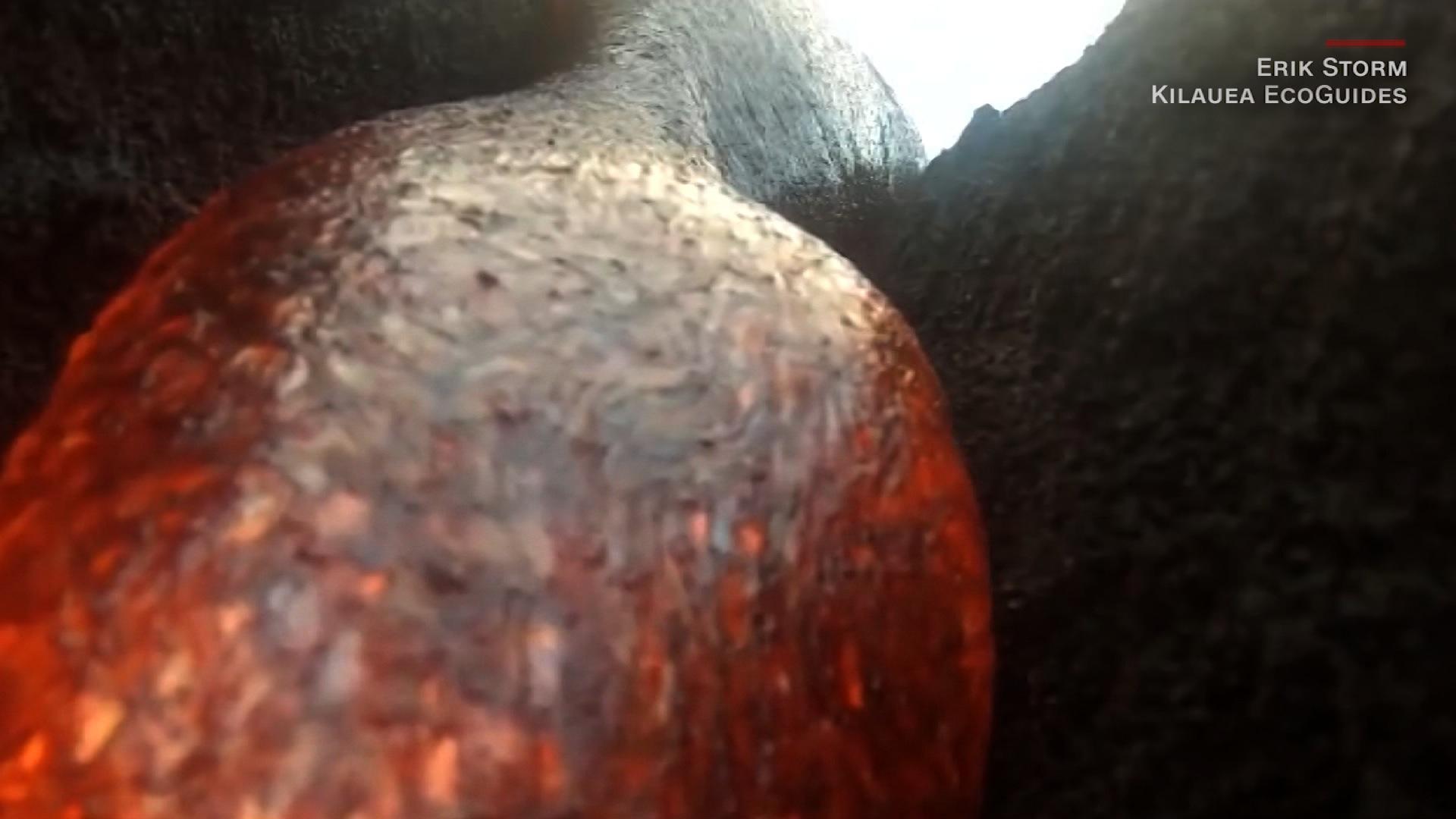 Watch GoPro film its own lava death - CNN Video