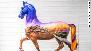 The Breeders' Cup Torrie Horse artwork