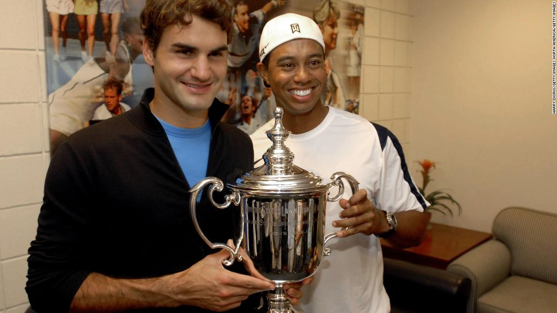 Although Roger Federer has won 19 tennis majors compared with 14 golf majors for Woods, the two have earned roughly the same prize money in their careers with around $110 million.