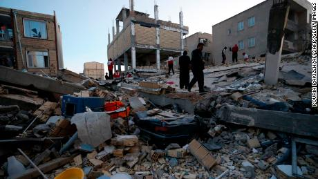 Death toll in Iran-Iraq earthquake climbs above 200