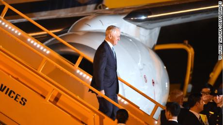 Australia's Prime Minister Malcolm Turnbull arrives in Vietnam ahead of the APEC Summit on November 9.