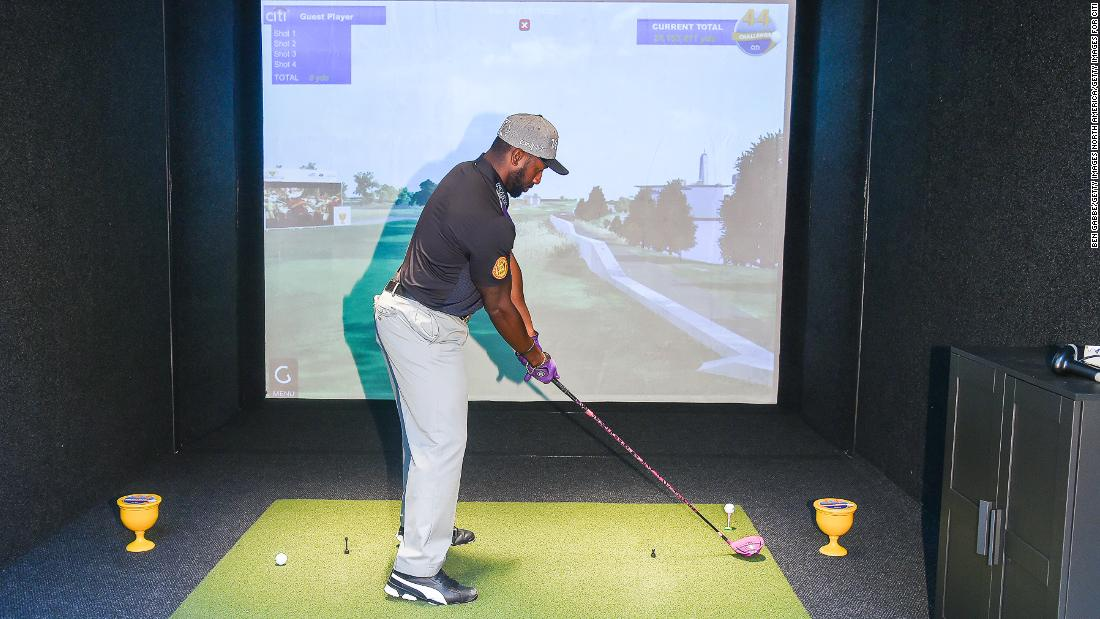 "Allen credits Tiger Woods with giving golf a swagger and energy that he is now trying to bring to the world of long drive competitions. ""Tiger's athletic ability was beyond what the game had seen before,"" Allen says. ""I'm not saying he's better than Jack (Nicklaus) or Arnie (Palmer) but it's how he did it."""
