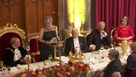 May delivers Lord Mayor's Banquet speech