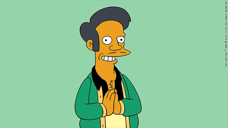 How a 'Simpsons' character pushed stereotypes