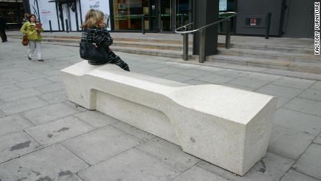 The Camden bench, first installed in London in 2012.