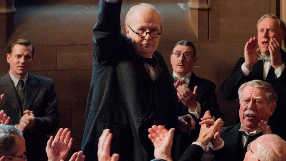 Gary Oldman as Winston Churchill in 'Darkest Hour'