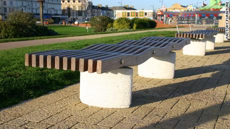The Serpentine bench.