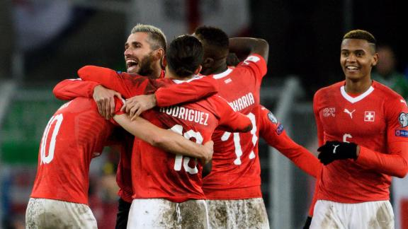 Switzerland broke Northern Irish hearts by holding on to another goalless draw, advancing 1-0 on aggregate after a controversial penalty in the first leg.