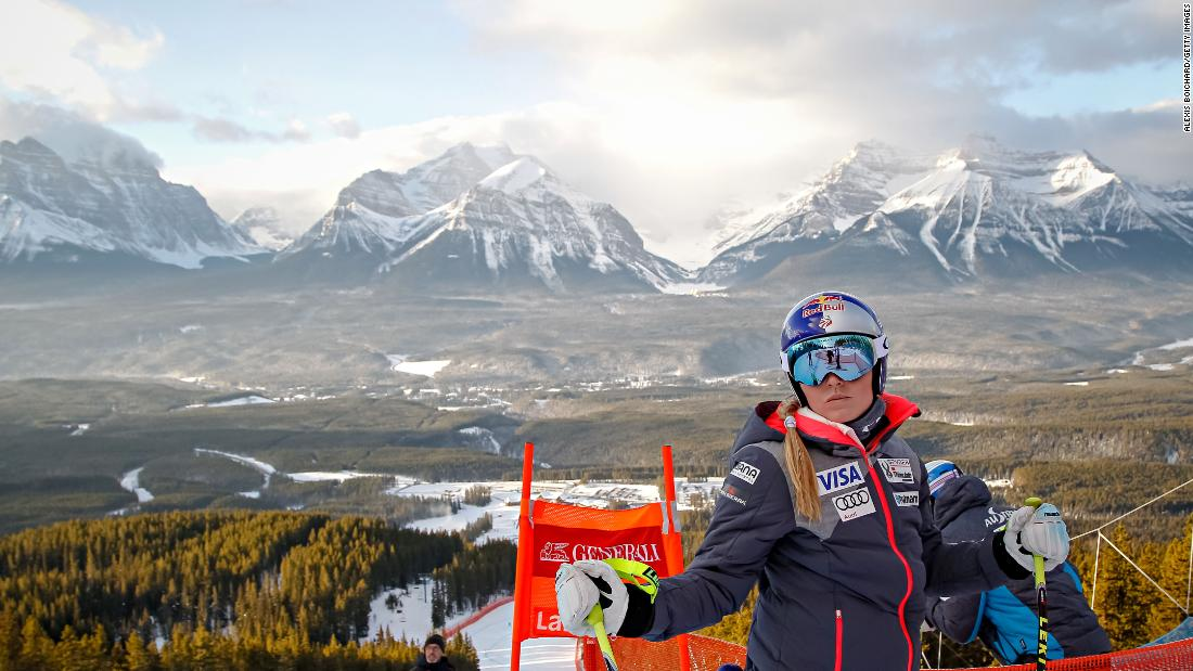 Lake Louise is one of Canadian skiing's crown jewels -- and it's also a favorite of U.S. ski great Lindsey Vonn.
