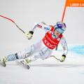 Lake Louise resort guide Lindsey Vonn racing
