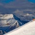 Lake Louise resort guide off piste
