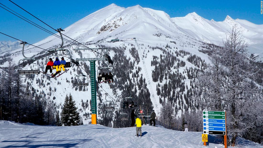 The resort's design is unique in that there are runs for all abilities off the top of each of the 10 lifts.