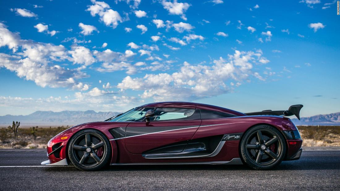 It hasn't yet been verified by Guinness World Records, but the Koenigsegg Agera RS is now the fastest production car in the world. It clocked a two-way average speed of 277.9mph across an 11 mile stretch of Nevada highway on November 4, claiming a raft of other titles in the process, including 0-400kmph in 33.29 seconds. The Agera RS's top speed on one run hit a staggering 284.6mph according to the manufacturer.