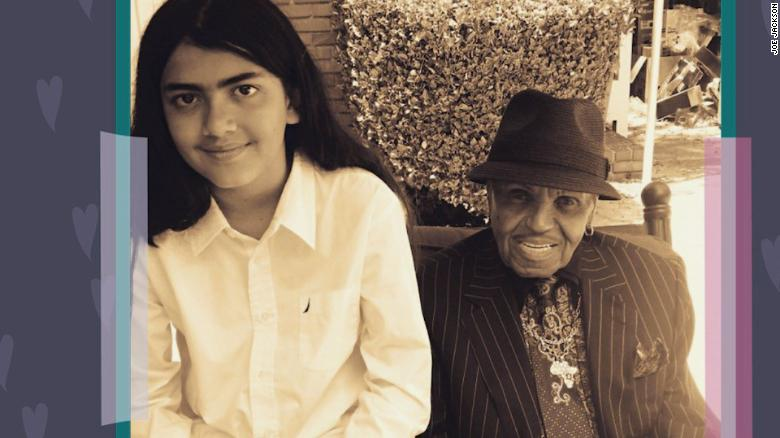Joe Jackson's message to grandson Blanket