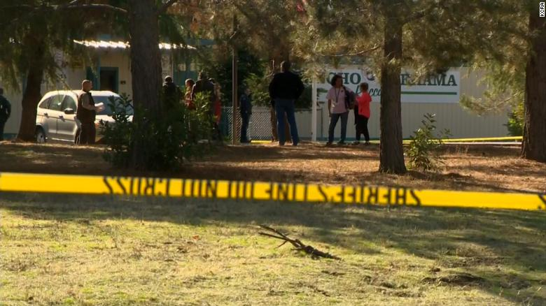 California gunman kills 5, wounds 10