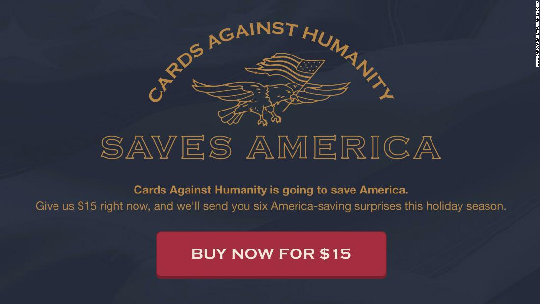 Cards Against Humanity Buys Land On Mexican Border To Stump Trump S