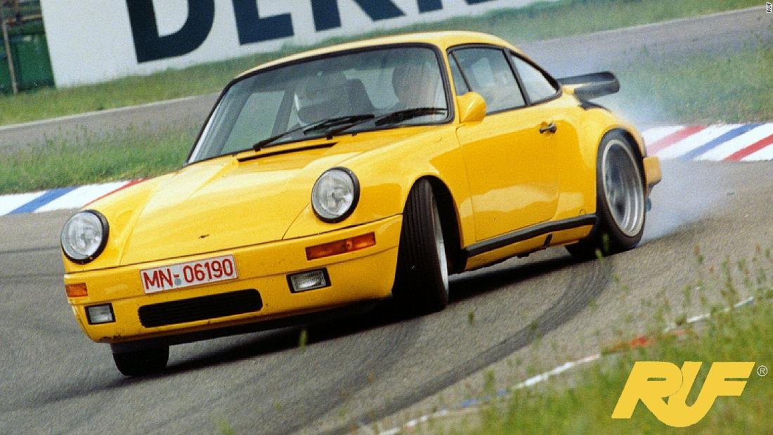 "The classic Porsche bodywork hid some serious engineering nous from Alois Ruf's team. Known affectionately as the ""Yellow Bird,"" the Ruf CTR twin turbo hit a then-staggering 212.5mph when tested at the Nardo Ring, Italy in 1987. Three decades later, Ruf has brought the CTR back with a <a href=""http://ruf-automobile.de/en/modell/6100/"" target=""_blank"">223mph top speed</a> and a look that says ""if it ain't broke, don't fix it."""