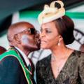 02 Robert Mugabe Grace Mugabe FILE