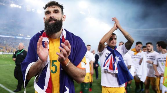 But Eriksen wasn't the only midfielder to take home the match ball during qualifying that week, with Australia's Mile Jedinak coming to the fore in a 3-1 win against Honduras.
