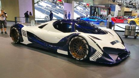 39 300mph 39 devel sixteen hypercar unveiled cnn. Black Bedroom Furniture Sets. Home Design Ideas