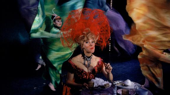 "Channing won a Tony Award in 1964 for her most famous role as the meddling matchmaker Dolly Gallagher Levi in ""Hello Dolly!"""