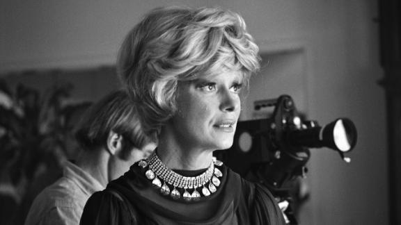 "The performer appears during the 1965 shooting of her Emmy-winning TV special ""An Evening With Carol Channing,"" which would air the following year."