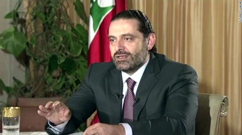 Lebanon's president: Former PM is a hostage