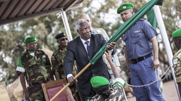 Zimbabwe's Defence Minister Sydney Tigere Sekeramayi.