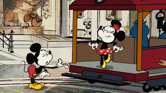 While there was never a wedding in any film, Disney decided in the studio that Mickey and Minnie already were happily married.