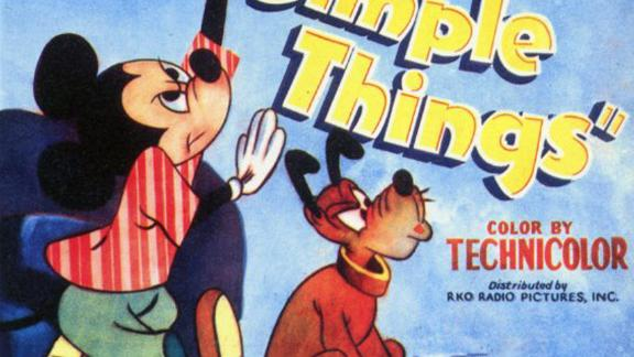"""""""The Simple Things"""" in 1953 was the last regular installment of the Mickey Mouse film series."""