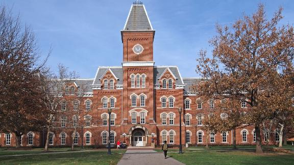 college building in fall; Shutterstock ID 238756393; Job: CNN Photos; Show: ; Producer: ; Add