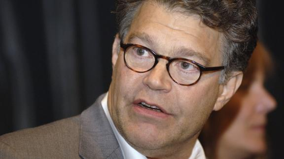 "NEW YORK - SEPTEMBER 13:  Comedian Al Franken answers questions after the the New York premiere of ""Al Franken: God Spoke"" at IFC Center on September 13, 2006 in New York City.  (Photo by William D. Bird/Getty Images)"