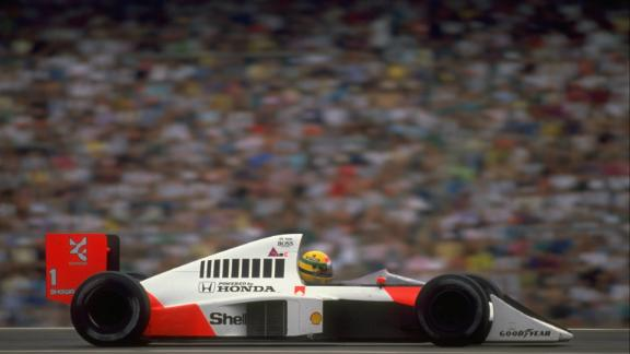 Senna competed in Formula One from 1984 until his death in 1994
