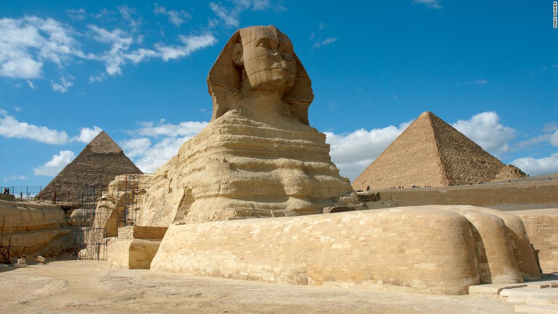 the mysterious great sphinx of giza essay The great sphinx is a large human-headed lion that was carved from a mound of natural rock it is located in giza where it and mysteries of this sphinx.