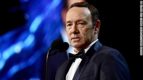 Allegations against Spacey led to him being dropped from the Netflix series 'House of Cards' and the film 'All the Money in the World.'