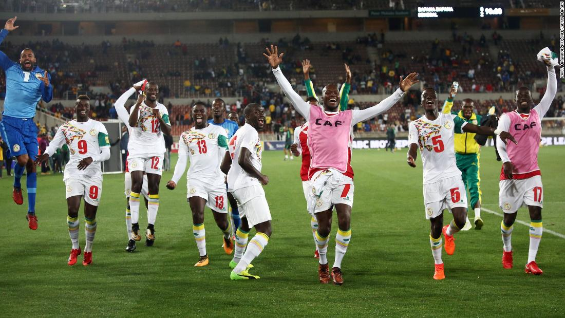 c8105d65d It  39 s the first time Senegal have qualified for a World Cup since