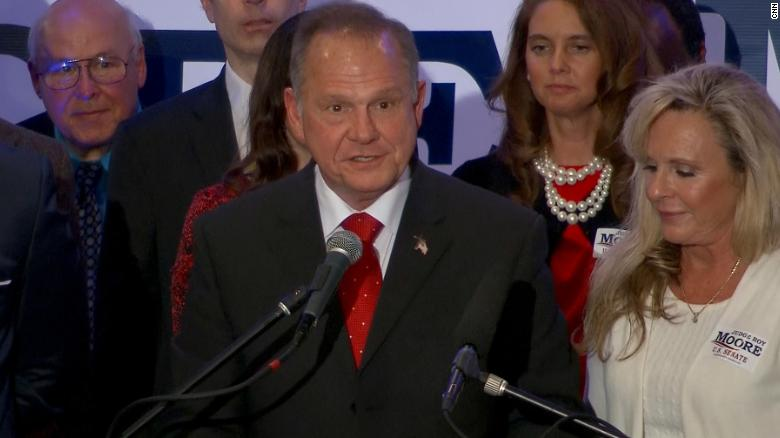 Roy Moore: I want to get back to the issues